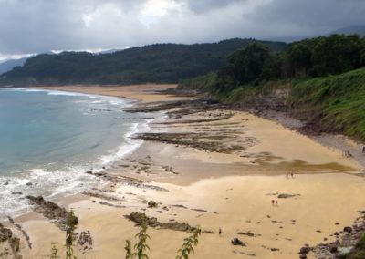Lastres beach